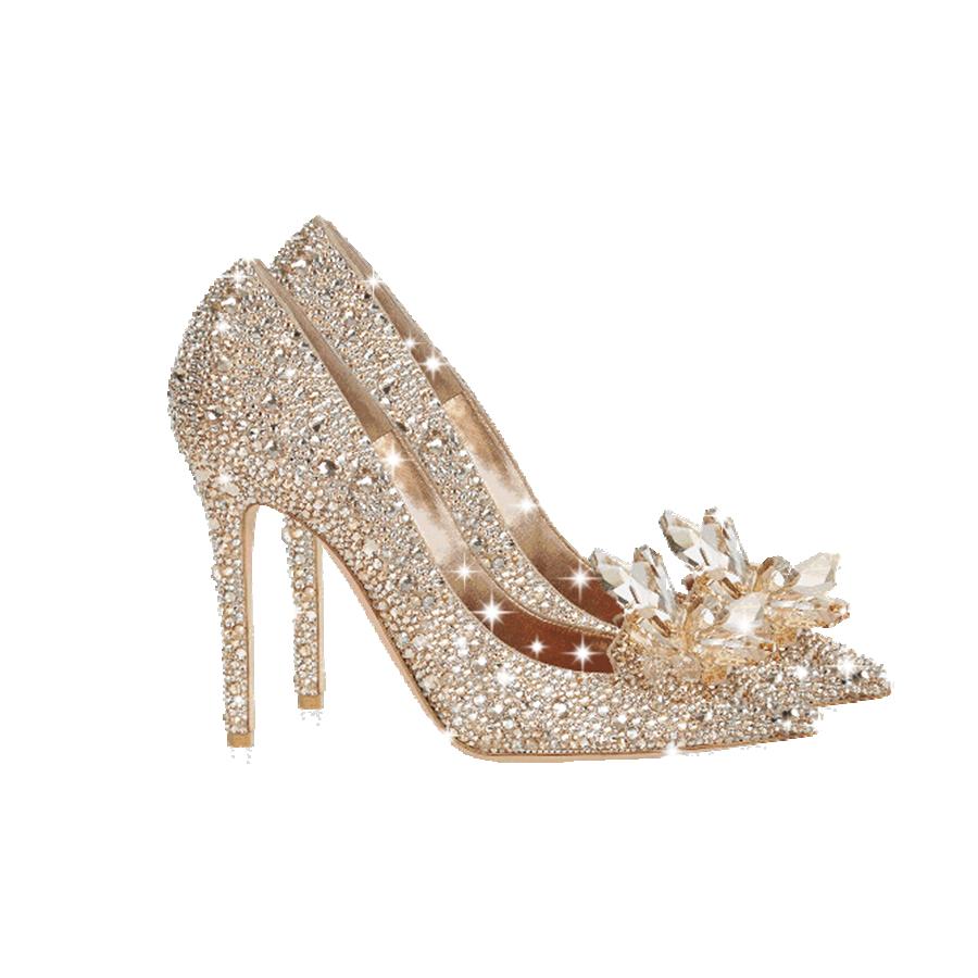 水晶高跟鞋